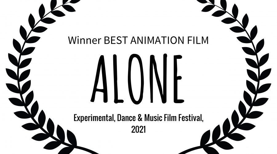 'alone' video's film festival awards